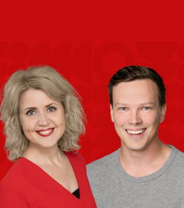 Valmentamo 2021: Integratalaiset Tiina Alho ja Rami Setälä